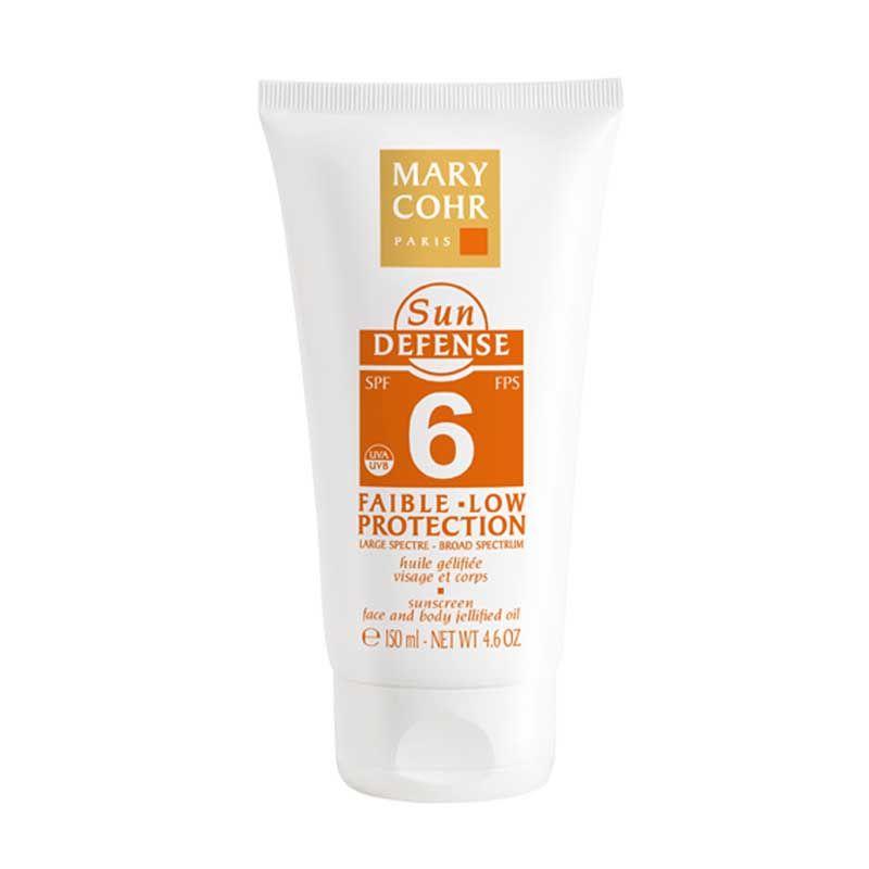 Sun Defense huile gelifiee SPF6