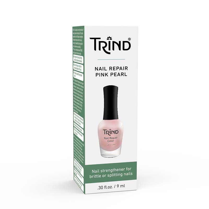 TRIND Nail Repair Color Pink-Pearl durcisseur d'ongle