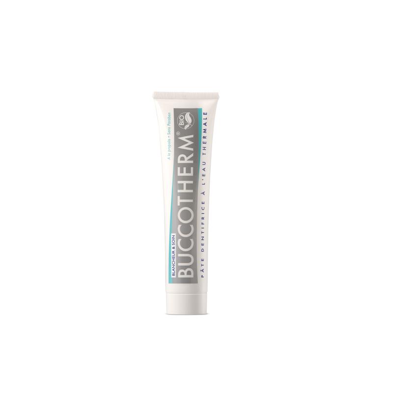 BUCCOTHERM Whitening & Care Bio – Zahnpasta für weiße Zähne, 75 ml