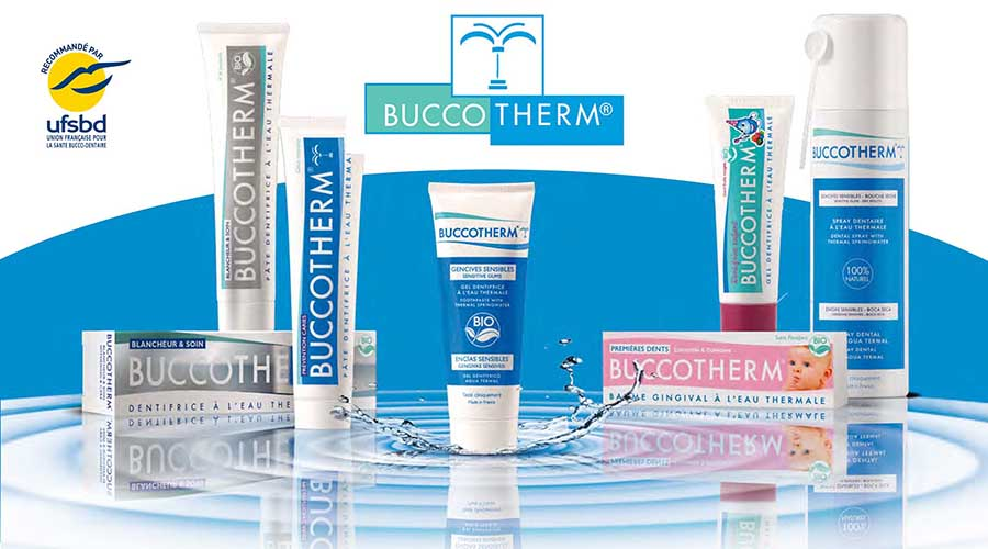Buccotherm soin buccodentaire à l'eau thermale