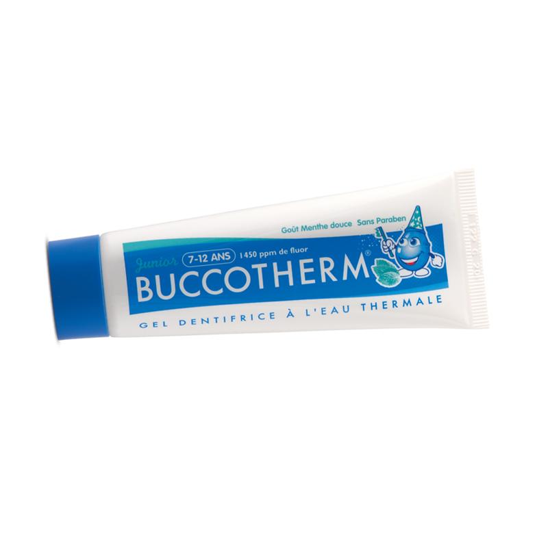 BUCCOTHERM Junior – Kinder-Zahnpasta / -Zahngel (7-12 Jahre) 50 ml