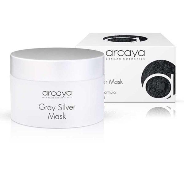 arcaya Gray Silver Mask