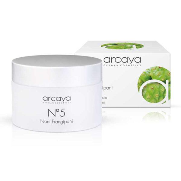 arcaya no5 Noni Frangipani cream