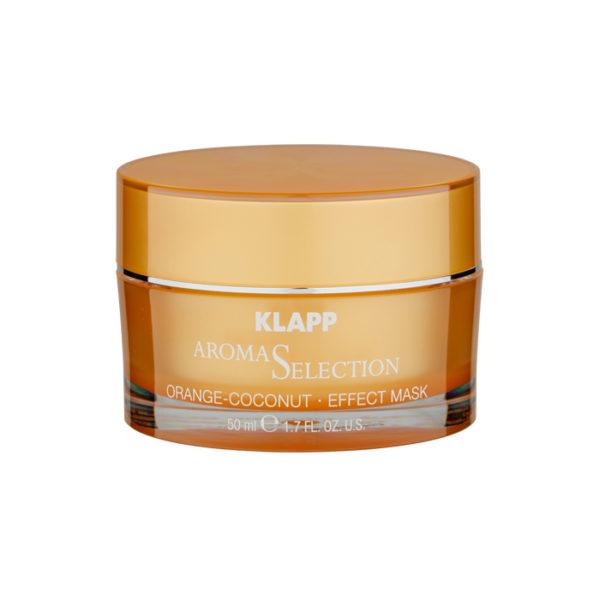 Klapp Aroma Selection Orange Coconut Effect Mask