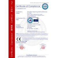 certificat CE mask FFP2 N95