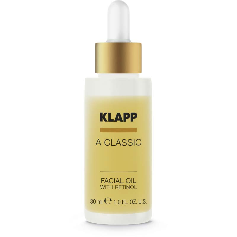 klapp a classic facial oil retinol