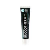 BUCCOTHERM Dentifrice Blancheur au charbon actif, 100% naturel et BIO 75ml