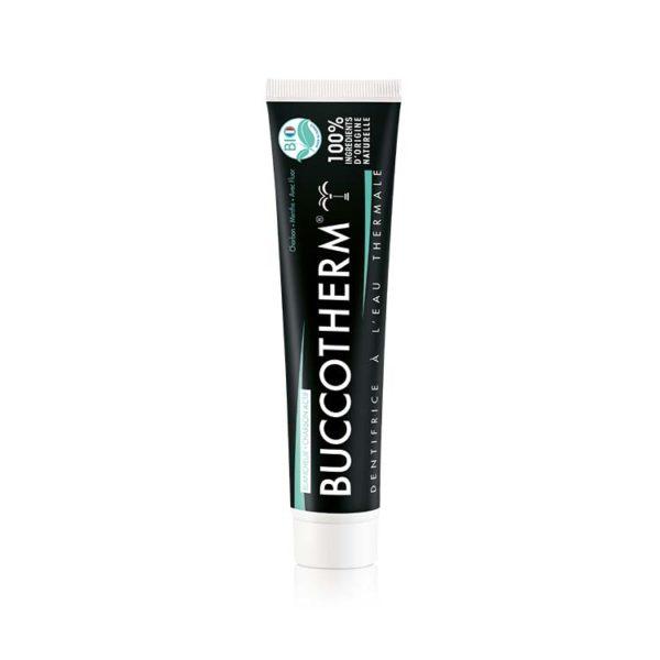 Buccotherm Zahnpasten mit Aktivkohle