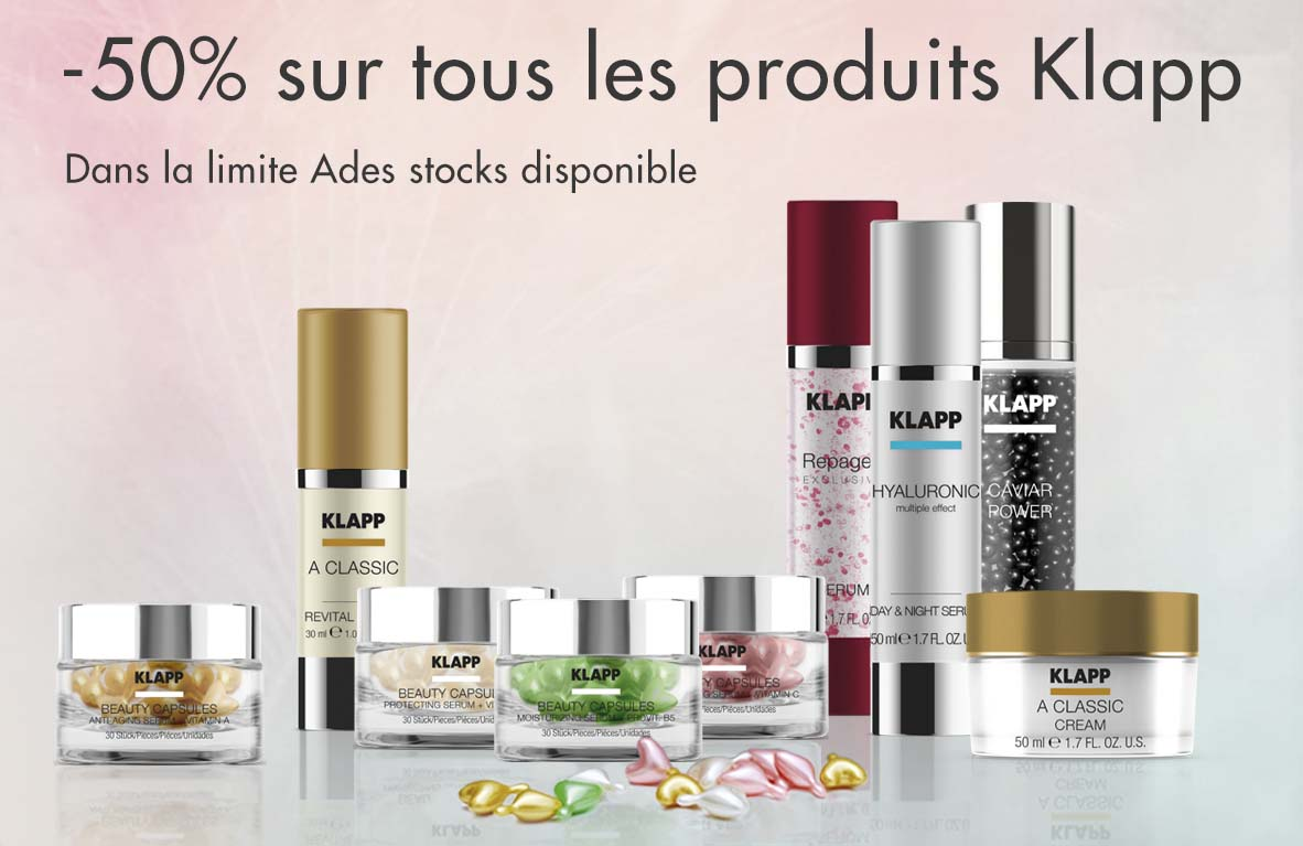 klapp promotion 50%
